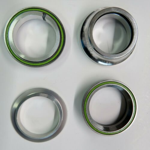 1 1//8 in Threadless Headset Sealed Bearings Primo Integrated Silver Or Oil Slick
