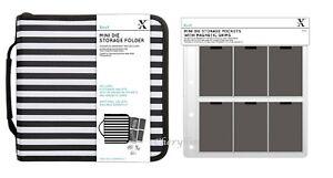 Xcut Mini Die Storage Folder 60 Pockets With Magnetic