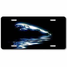 Jaguar Aluminum Metal Car Auto License Plate Tag Abstract Art New British