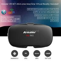 360° View All-in-one Virtual Reality Headset 3d Vr Glasses 2g/16g 1080p Wifi Bt