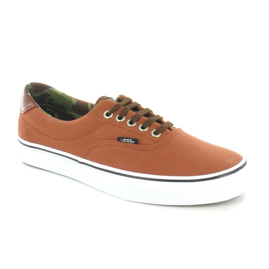 Vans Era 59 uc68ig Uomo Canvas & Sneaker Scarpe-Ginger Bread Arancione & Canvas CAMO 082a80