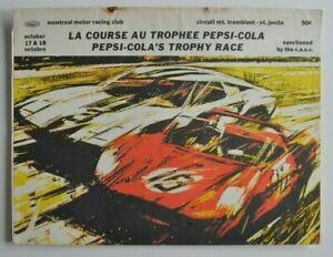 PEPSI-COLA-Trophy-Race-Quebec-1965-Mt-Tremblant-Official-Program