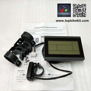 24V-36V-48V-KT-LCD3-Display-Meter-Control-Panel-for-Electric-bike-Black-Color
