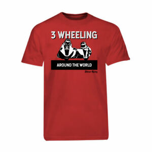 Red-3-Wheeling-T-shirt-Tee-Official-3-Wheeling-Around-the-World-Sidecar-Racing
