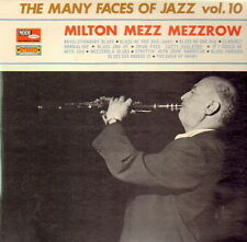 "12"" Milton Mezz Mezzrow The Many Faces Of Jazz Vol. 10 60`s Vogue Mode"