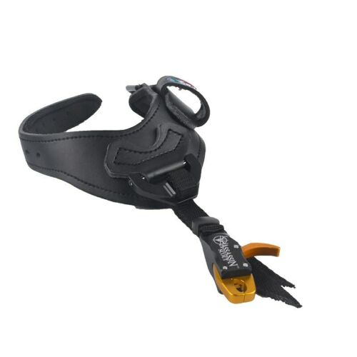 Archery Adjustable Release Aid Caliper Wrist Buckle Strap f//Compound Bow Hunting