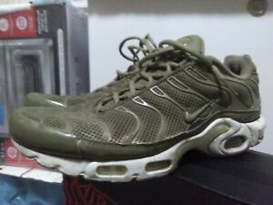 Details about Nike Air Max Plus Breeze Khaki Green TN Running Shoes Size 11.5 898014-200