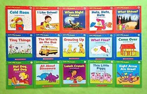 Childrens-Lot-15-Learn-to-Read-Books-First-Little-Readers-Leveled-Levels-A-B-C