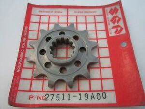 Suzuki ATV QuadRacer LT250 R 1985-1992 Engine Sprocket (NT:12) PN 27511-19A00