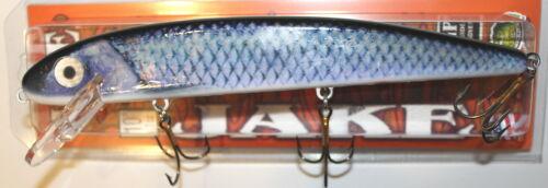 """10/"""" Jake Musky Mania Muskie Pike Crankbait Lure Live Image Tullibee J10-44-L"""