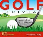 Golf Trivia 2017 Calendar Sellers Publishing Inc. Corporate Author