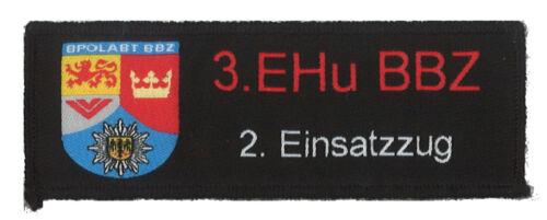 Einsatzhundertschaft Bad Bergzabern 2.Zug Abzeichen Patch Bundespolizei 3
