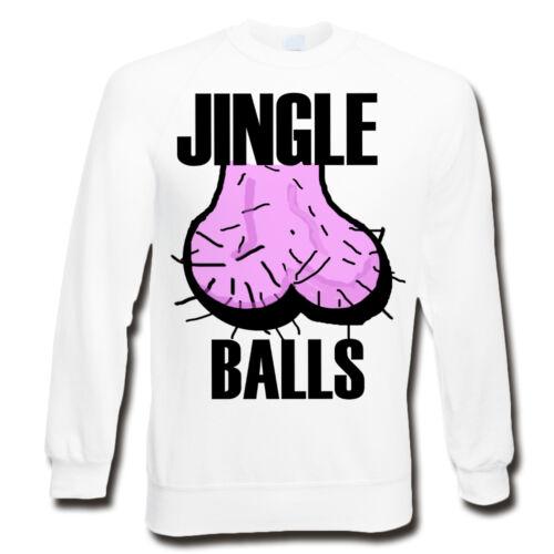 Jingle Balls SweatshirtFunny Christmas JumperUGLY XMAS JUMPERSBells