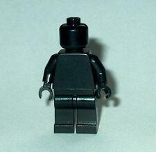 STATUE MINIFIG Lego Solid-Plain BLACK MiniFigure NEW Genuine Lego Monochrome
