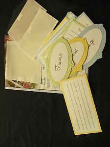 Creative-Memories-Baby-Bundle-of-Journal-Boxes-Paper-Tags-Memorabilia-Pockets
