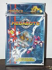 2 Medabots Starter Decks Medabots Card Game NEW Includes 2 Booster Packs Inside