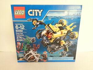2015 Lego City #60092 Haute Mer Sous-marin