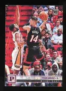 2019-20 Panini Chronicles Tyler Herro #115 Rookie Card RC Miami Heat
