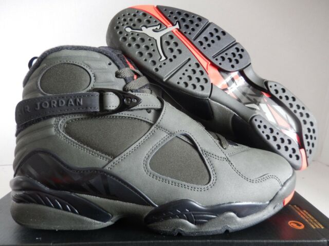e0aa9721321974 Nike Air Jordan 8 Retro Take Flight Sequoia Size 8 Basketball Shoes ...