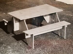 Portable Picnic Table Plans Camping Flat Storage Yard