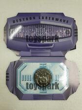 EXCLUSIVE COIN for Takara Transformers Masterpiece MP-29 Shockwave Laserwave