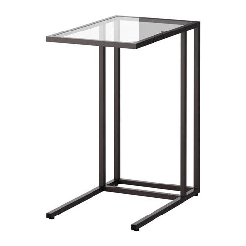 Black Brown Side End Table Coffee Bedside Laptop Multi Purpose Free Shipping