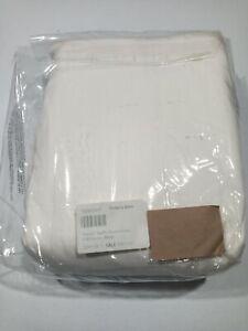 Pottery-Barn-Tencel-Ruffle-Duvet-Cover-White-Size-Full-Queen-GallyHo