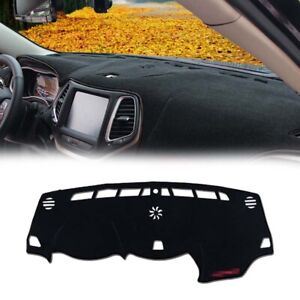 For Jeep Cherokee 2014-2019 Dashboard Cover Dashmat Dash Mat Pad Sun Shade Red