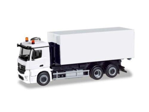 Herpa 013611 h0 camión minikit mercedes antos cambio cargador-camión