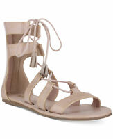 Women's 9-m Mia Ozie Lace-up Gladiator Sandals Blush Pink $69