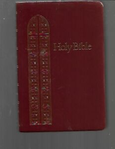 Y4 KING JAMES VERSION HOLY BIBLE REGENCY GIANT PRINT REFERENCE EDITION RED SOFT