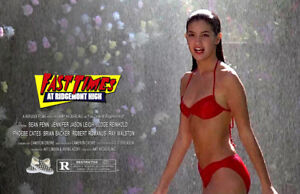 Fast Times at Ridgemont High UNSIGNED 11x17 PHOTO #4 Sean Penn Phoebe Cates