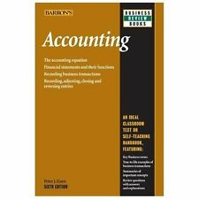 Barron's Business Review: Accounting by Peter J. Eisen (2013, Paperback, Revised