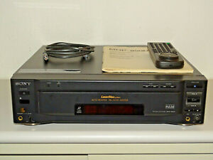 Sony-MDP-850D-High-End-LaserDisc-LD-Player-inkl-FB-amp-BDA-2-Jahre-Garantie
