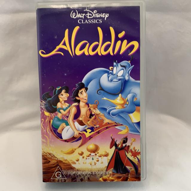 Walt Disney Classics Aladdin VHS