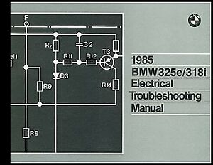 image is loading 1985-bmw-325e-318i-electrical-troubleshooting-manual-wiring -