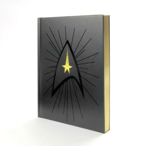Star Trek Captain's Log Hardcover Journal Notebook