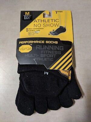 Vibram Five Fingers Ghost Low Profile Toe Unisex Underwear Sports Socks White