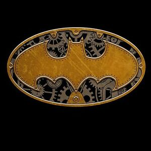 DC-BATMAN-STEAMPUNK-SYMBOL-Logo-Black-Adult-Licensed-T-Shirt-S-2XL