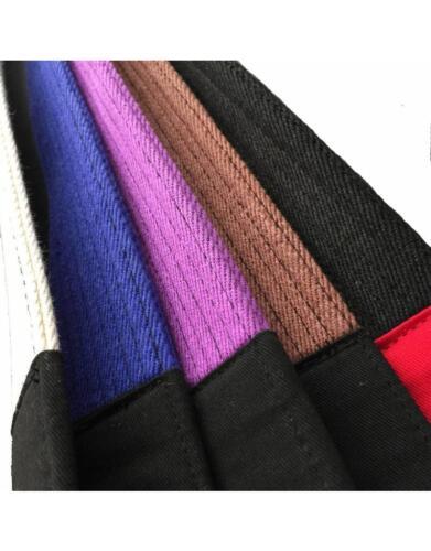 Details about  /Tatami BJJ Belt Adult Ranked JiuJitsu White Blue Purple Brown Black A1 A2 A3 A4