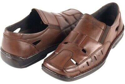 Office Work Brown Shoes Older Boys