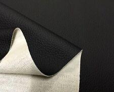 Auto Kunstleder Meterware MB Catania SCHWARZ - Strech wie echt Leder 167cm breit