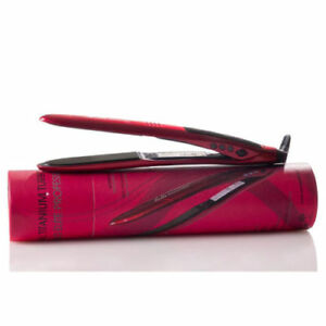 Professional salon flat iron hair straightener  Red Diamond Bella curly iron