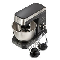 Hamilton Beach 300w 6 Speed 3.5 Quart Countertop Stand Mixer, Gray | 63326 on sale