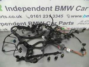 BMW E90 3 Series N57 330D Engine Wiring Loom 12517812509 eBay