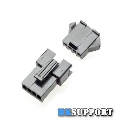 12 Sets x 3A SM Wire Connector with Terminals for CNC 3D Printer Stepper Motor