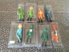 RARE 7 Tomland Starroid Raiders & 6 Weapons Lot Vintage Star Wars Lot YASU COKY