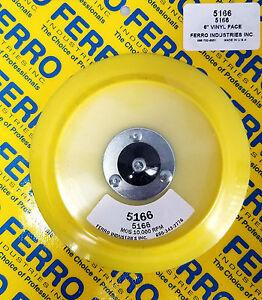FERRO-6-034-PSA-Sanding-Disc-Backing-Pad-for-6-Inch-DA-StickIt-Paper-TAPERED-EDGE