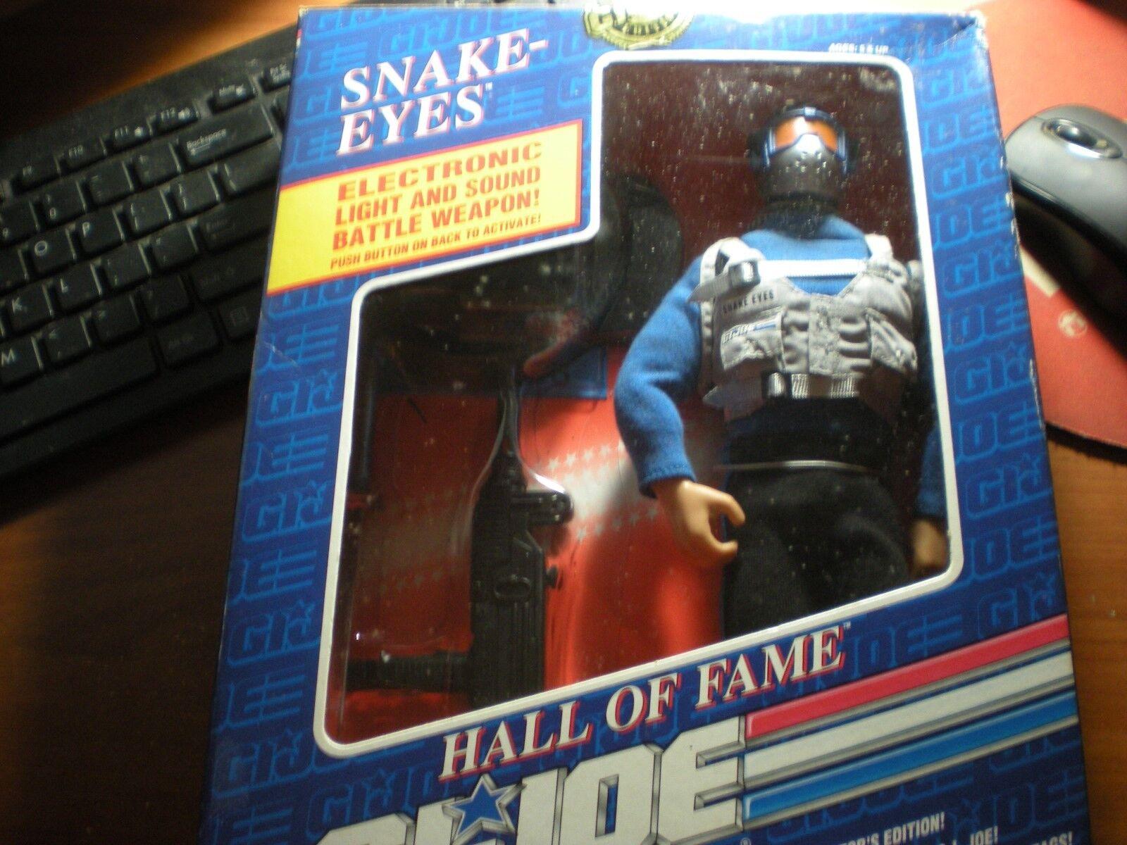 1991 Hasbro Hall of Fame GI JOE A Real American Hero  Snake Eyes