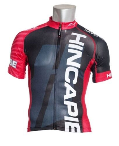 Hincapie Velocity Jersey Mens Cycling Road Bicycle Bike Small S Red